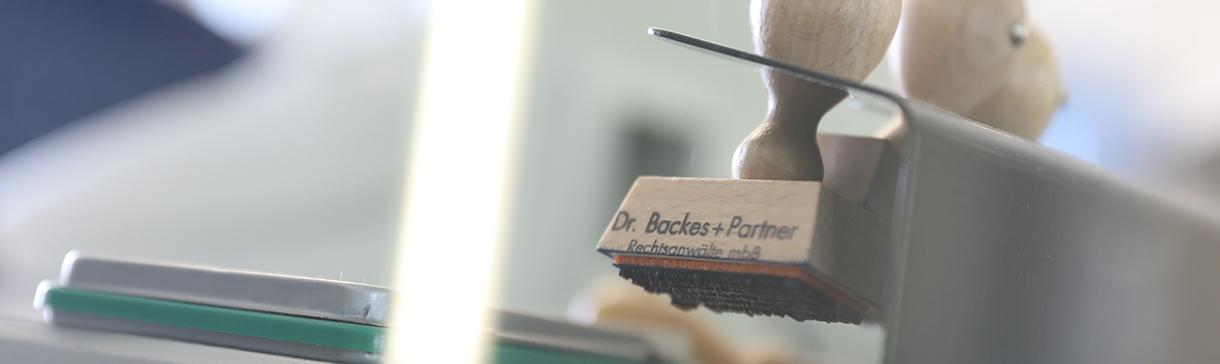 Zertifizierung, Dr. Backes Rechtsanwälte, Mönchengladbach